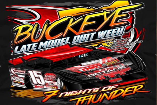 buckeye dirt week shirt slider
